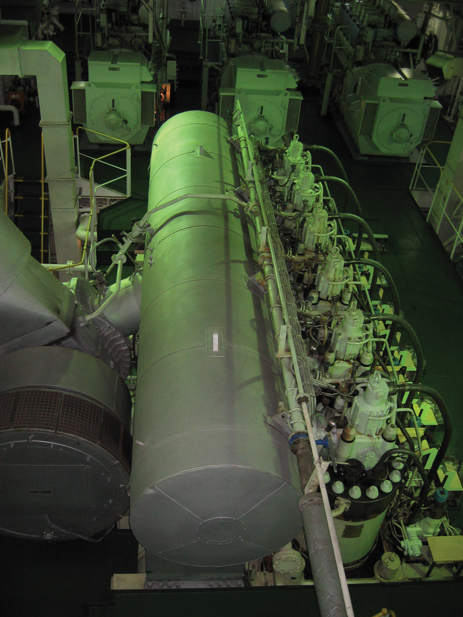 Battleship Engine Room: The Core Of The Ship